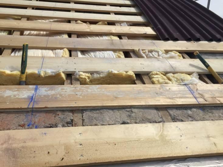 Rénovation charpente et corbeaux bois sur La Londe  Entreprise générale de b
